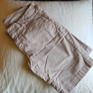 Blush J Crew Bermuda Shorts